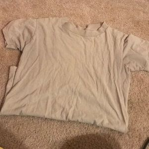 Sand tee for military.